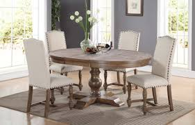 Pedestal Dining Room Sets by Xcalibur Pedestal Table Dx14866 Dining Tables From Winners