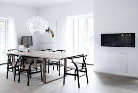 beautiful scandinavian dining rooms