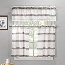 Discount Curtains And Valances Basement Window Curtains Amazon Com