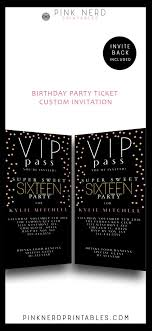 cing birthday party 118 best girl birthday party invitations images on