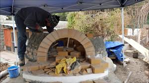 wood fired brick oven build pompeii style pizza oven youtube