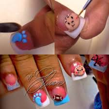 nail designs for boy baby shower gel nails baby boy trickle baby