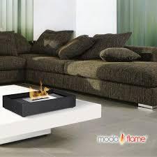 moda flame table top moda flame serpa table top indoor outdoor ethanol fireplace burner