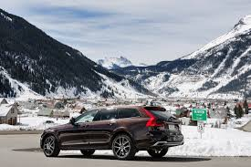 volvo xl 70 the wagon is back into thin air with the volvo v90 cross country