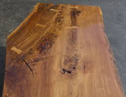 Oak Slab Table by Hand Made 375 Year Old White Oak Slab Coffee Table By Artisans Of