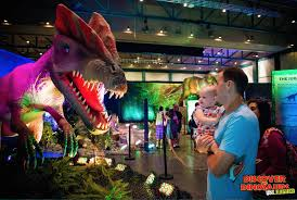 discover the dinosaurs unleashed exhibit roars into harrisburg