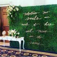 wedding backdrop green 100 amazing wedding backdrop ideas moss green wedding green