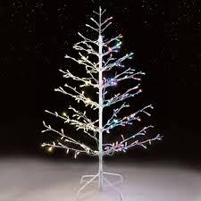 4 foot white christmas tree with colored lights upc 029944539483 4 5 210l csp led stick tree upcitemdb com