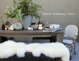 modern farmhouse fall porch jeanne oliver