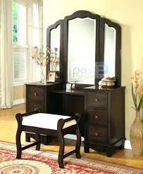 vanity table with lighted mirror and bench bedroom amazing lighted makeup vanity sets wonderful bedroom lighted