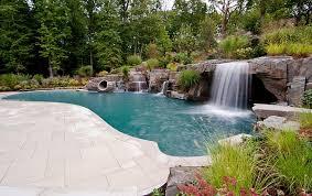 Waterfall Design Ideas Breathtaking Pool Waterfall Design Ideas