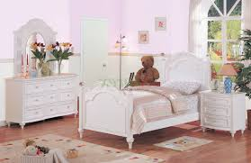 ashley furniture white bedroom set beige floral pattern wall decal