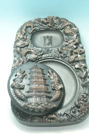 dragon home decor chinese exquisite hand washi stone ink stone carved dragon classic