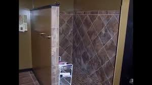 bathroom enchanting bathroom design with glass shower panel and