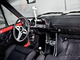 volkswagen pickup interior 1979 vw rabbit bbs rm wheels eurotuner magazine