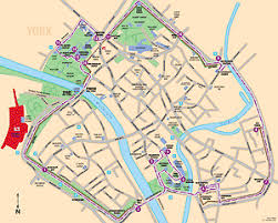 city of york wall tour guide includes map audio cd