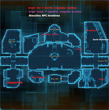 Swtor Map Image Fury Ingame Area Map Png Star Wars The Old Republic