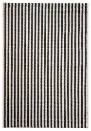 White Cotton Rug Chester Eco Cotton Rug Black And White Area Rugs By Hook