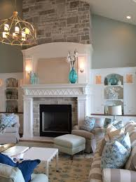 drywall to lessen deepness of alcove above fireplace and added