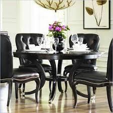 black dining table set innards interior