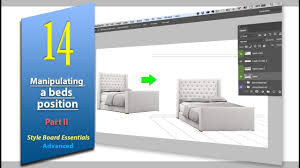 Designing A Bed 14 Manipulating A Bed Part 2 Interior Design Photoshop