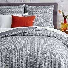 West Elm Duvet Covers Sale Striped Belgian Linen Duvet Cover Shams Pale Harbor West Elm