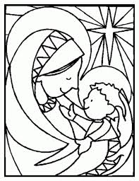 unique stained glass coloring page 29 5041