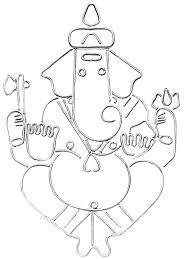 8 best images of easy ganesh drawings ganesha sketches simple