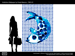 no 1 addiction wall mural design by paola navone for nlxl u2013 burke
