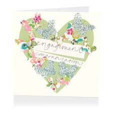 congratulations engagement card congratulations on your engagement greeting card