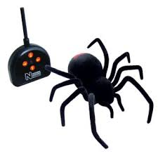 remote controlled black widow spider probably won u0027t last very long