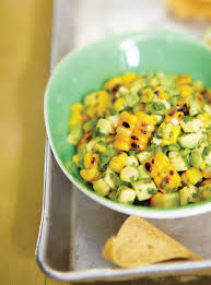 ricardo cuisine francais avocado and grilled corn salsa ricardo