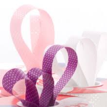 pink polka dot ribbon polka dot ribbon a way to add flair to your parcel