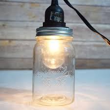 Glass Jar Pendant Light Diy Hanging Mason Jar Pendant Light