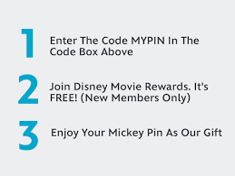 free disney movie rewards pin disney pins blog