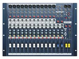 epm12 soundcraft professional audio mixers