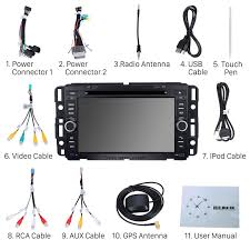 radio dvd player android 7 1 1 gps navigation system 2008 2011