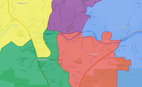 coc valencia map scvnews com hart dist publishes voting boundary map for