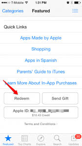 How To Redeem Itunes Gift Card On Iphone - how to redeem itunes gift cards on iphone or ipad
