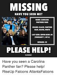 Carolina Panthers Memes - 25 best memes about super bowl 50 carolina panthers and