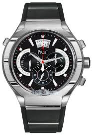 piaget watches prices g0a34002 piaget polo fortyfive flyback chronograph gmt 45mm mens