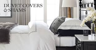 How To Change A Duvet Cover Luxury Duvet Covers U0026 Shams Williams Sonoma