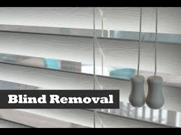How To Dust Wood Blinds How To Remove U0026 Install Vinyl Blinds Diy Blind Installation And