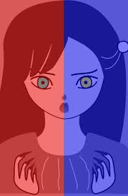 different color purples the in this image does not have different color eyes it u0027s an