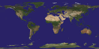 Map Of World Before Ice Age by Planetary Maps