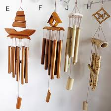 new arrival 67cm hanging bamboo wind chime decorative outdoor