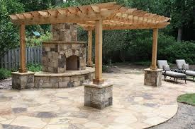 Patio Trellis Ideas Download Stone Patio Fireplace Gen4congress Com