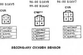 2000 honda civic o2 sensor wiring diagram wiring diagram