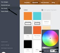 canva color palette ideas how to use canva for work whiskey red