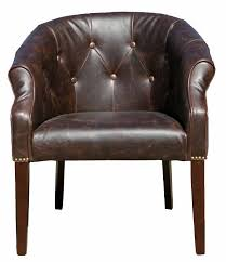Dining Tub Chairs R 03470 Antique Leather Tub Chair